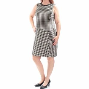 Lauren Ralph Lauren Dress Houndstooth Sz 16